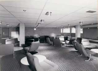 Gordon Craig Theatre, Completed lounge area September 1975