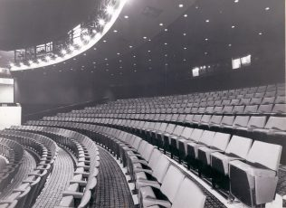 Gordon Craig Theatre Completed auditorium area September 1975