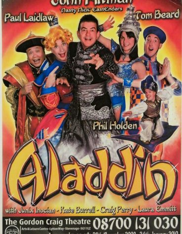 Poster for Aladdin, November 2009 - January 2010