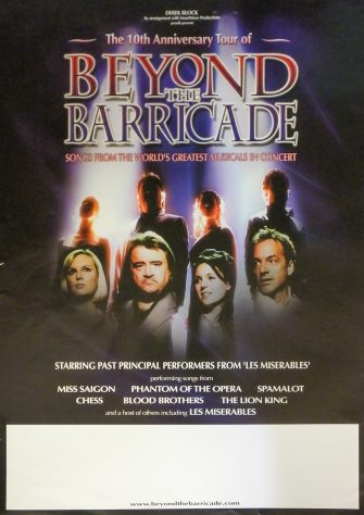Poster for Beyond the Barricade, 2009