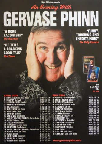 Poster for An Evening With Gervase Phinn, April 2009