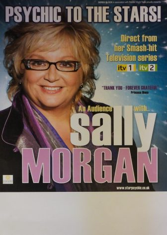 Poster for An Audience with Sally Morgan, 2009