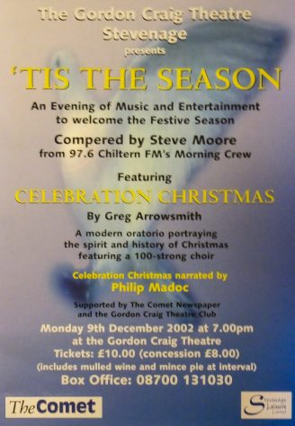 Poster for 'Tis the Season, December 2002