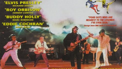 Flyer for Rockin On Heavens Door, October 2002