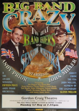 Poster for Big Band Crazy, May 2002