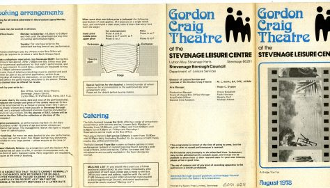Brochure for August 1978