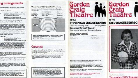 Brochure for December 1979 - January 1980
