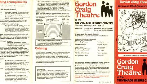 Brochure for December 1983 - January 1984