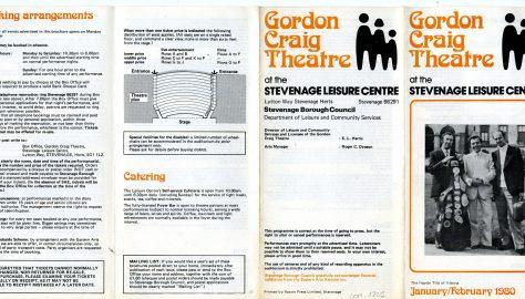 Brochure for January - February 1980