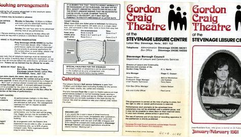 Brochure for January - February 1981