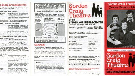Brochure for January - February 1983