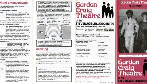 Brochure for June 1983