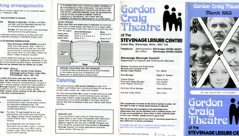 Brochure for March 1983