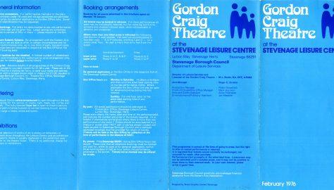 Brochure for February 1976