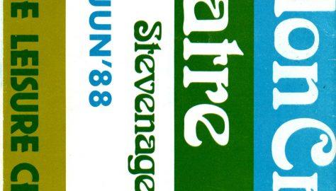 Brochure for April - June 1988