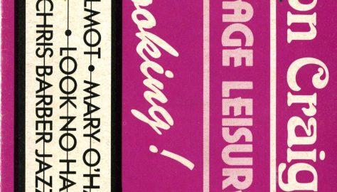 Brochure for June - July 1986