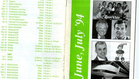 Brochure for June - July 1994