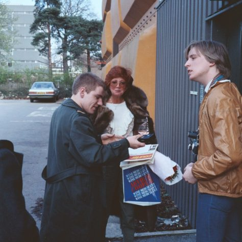 Cilla Black at the Stage Door of The Gordon Craig | Michael Penn