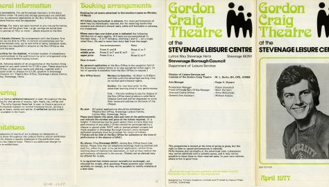 Brochure for April 1977