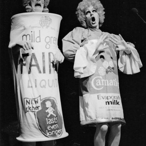 Nigel Ellacott and Peter Robbins, Cinderella at The GCT 1983