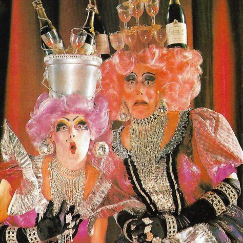 Nigel Ellacott and Peter Robbins, The Ugly Sisters | Nigel Ellacott