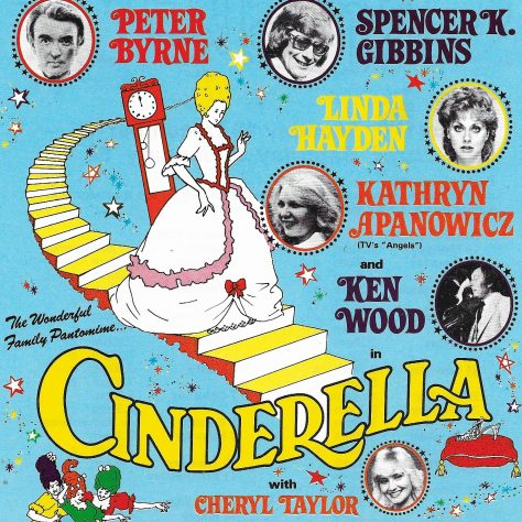 Poster for Cinderella at GCT 1983/84