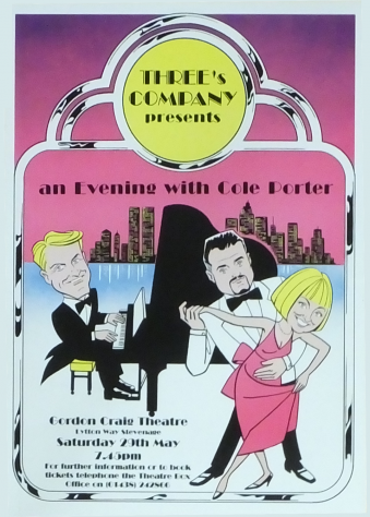 Poster for An Evening with Cole Porter, May 1999