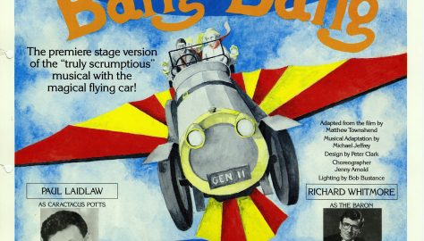 Poster for Chitty Chitty Bang Bang, August 1992
